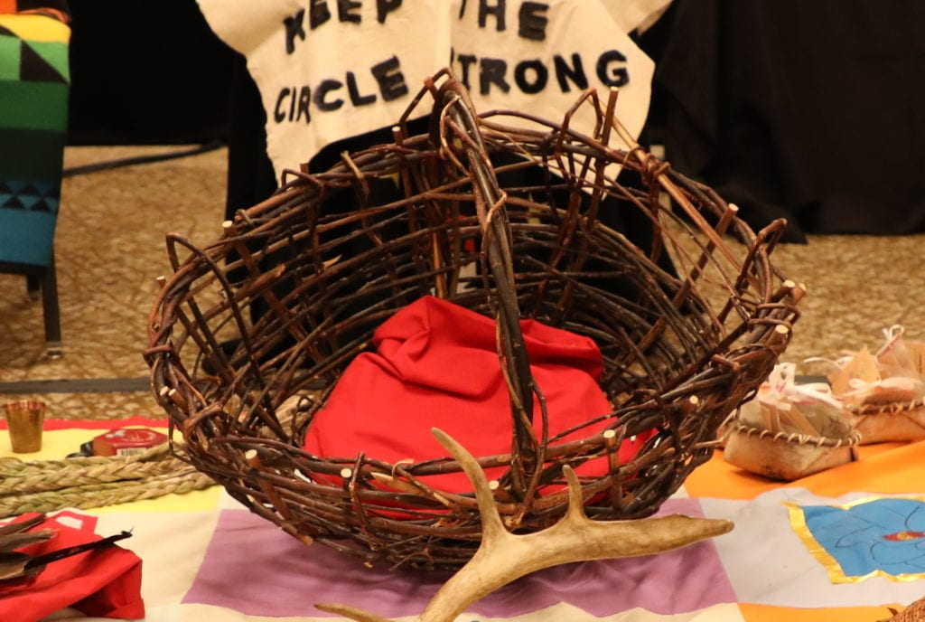 The red willow basket